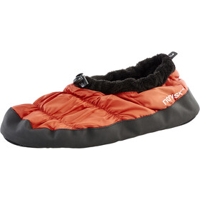 Nordisk Daunenschuhe red orange